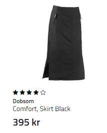 Comfort SKirt black