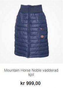 mountain horse noble täckkjol